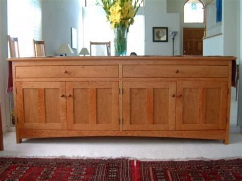 solid cherry quot prairie quot sideboard traditional buffets