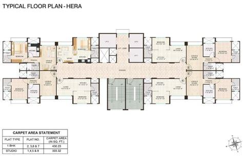 city floor plan hiranandani fortune city floor plan