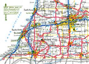 Map Of Southwest Michigan by A Mostly Accurate Road Map Of Southwest Michigan By