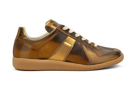 margiela sneakers gold maison martin margiela 22 gold replica sneakers hypebeast