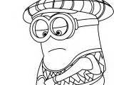 minion golfer coloring page despicable me golfer minions coloring page wecoloringpage