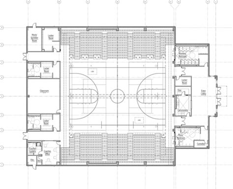 basketball gym floor plans new gym to give space value to students the paper wolf