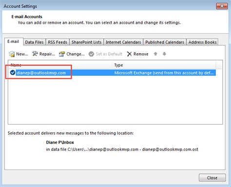 how to change profile picture on book rename exchange mailbox and account in outlook