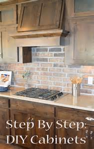 how do you build kitchen cabinets step by step diy cabinets homemade by jaci