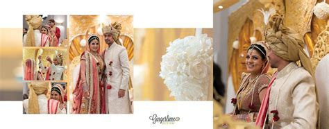 Bride and groom, hindu wedding, wedding album, wedding