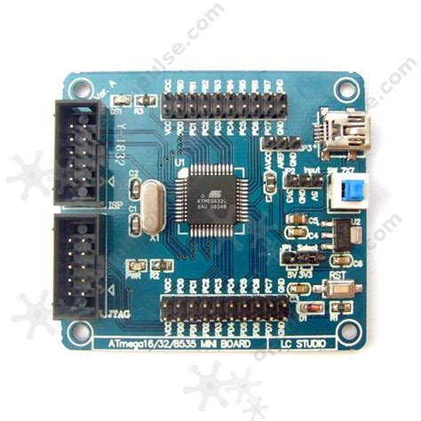 Atmega 32pu atmega32 development board open impulseopen impulse
