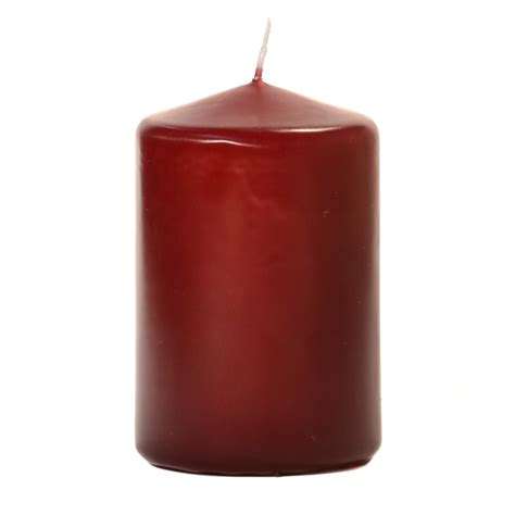 best unscented candles burgundy 3x4 unscented pillar candles 3 inch pillar candles