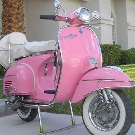 vintage pink vespa  pink pink love