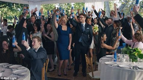 budlight xmas commercials schumer and seth rogen celebrate marriage in new bud light ad daily mail
