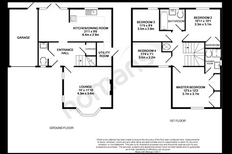 Bryant Victoria Floor Plan | 4 bedroom detached house for sale in hurricane way