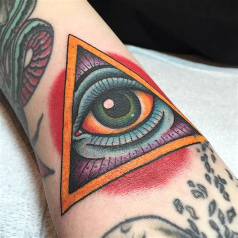 all city tattoo all seeing eye in the ditch on tony at port city