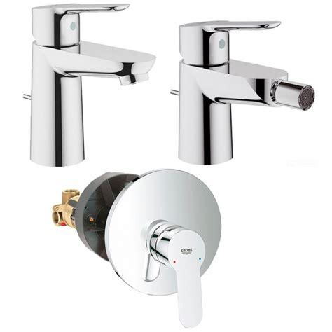 miscelatori bagno grohe grohe miscelatori bauedge lavabo bidet doccia incasso