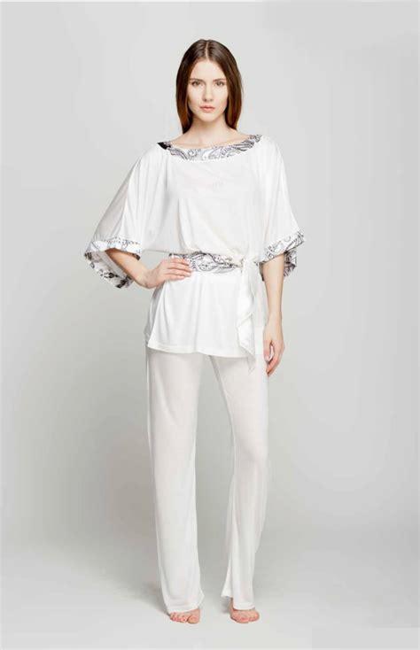 Piyama Satin Velvet Navy Flamingo zen chic pyjamas laeta la220 idresstocode