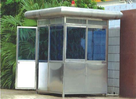 cabines de cabines de a 231 o inoxid 225 vel port 225 teis feitas sob encomenda do agente de seguran 231 a caixa de sentinela
