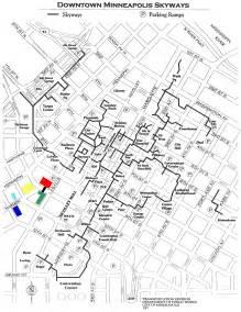 Minnesota Light Rail Minneapolis Skyway Map Mapsof Net