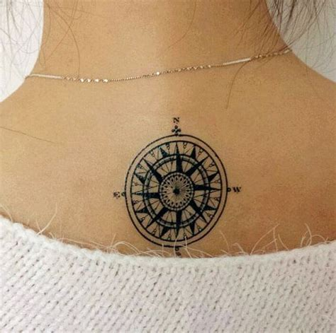 tattoo with compass vintage compass tattoos