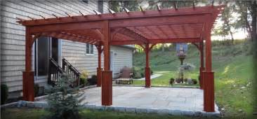 Pergola Wooden by Outdoor Garden Amp Patio Pergolas Homeplace Structures
