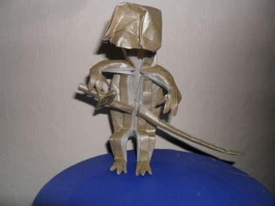 Origami Swordsman - swordsman