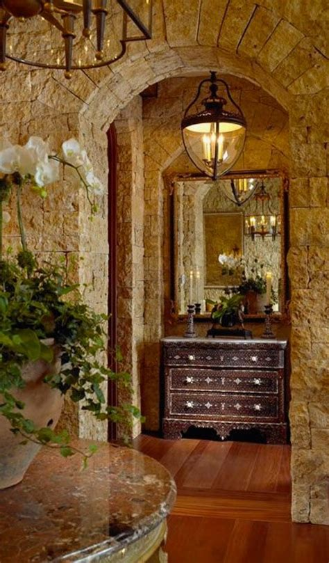 foyer table tuscan style decorating entry foyer tuscan foyer design tuscan style pinterest design