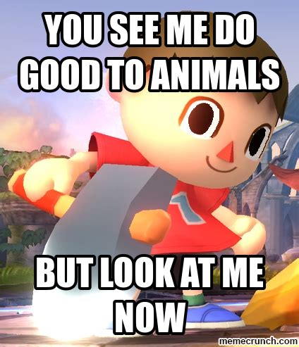 Animal Crossing Villager Meme - villager meme