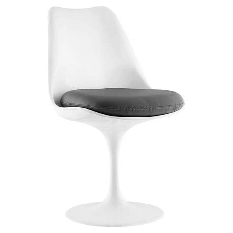 Lippa Leather Like Side Chair Swivel Pedestal Base Pedestal Swivel Chair
