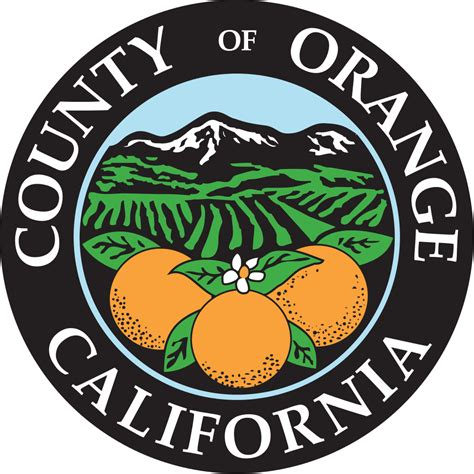 Orange County Ca Search File Seal Of Orange County California Svg Wikimedia Commons