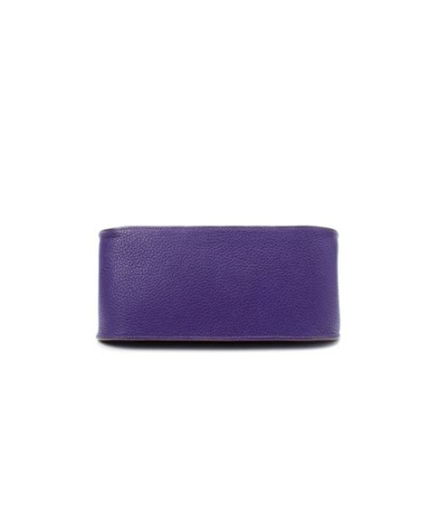 Hermes Hotpants Purple lyst herm 232 s preowned cassis taurillon clemence jypsiere 28 bag in purple