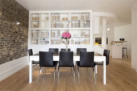 Dining Room Bookshelves by 25 Dining Rooms And Library Combinations Ideas Inspirations