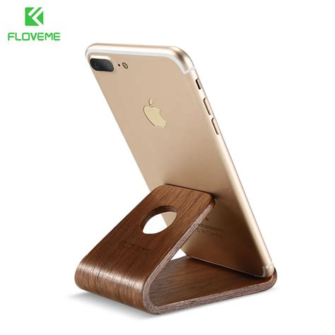 iphone stand for desk aliexpress com buy floveme wooden phone stand holder for