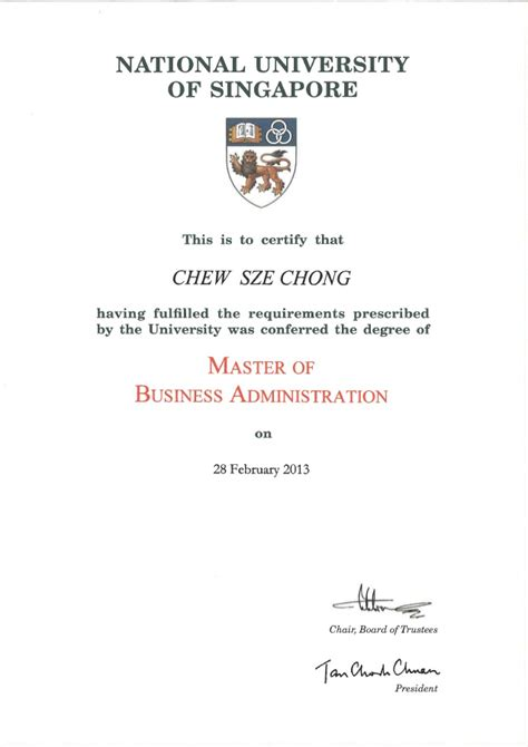 Mba Oficial by Mba Official Transcript