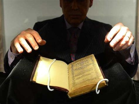 Would You Indulge In The Worlds Most Expensive Desserts by World S Most Expensive Book Sells For 14 Million