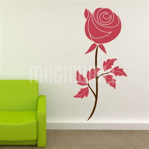 wall flower stickers flower magic wall decal sticker graphic canada