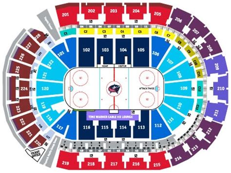 nationwide blue jackets seating chart blue jackets seating chart nationwide arena seating
