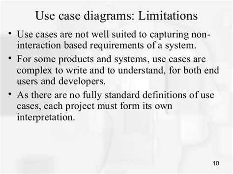 Advantages Of Use Diagram