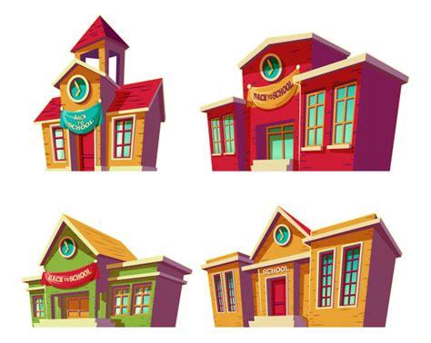 imagenes instituciones educativas conjunto de ilustraciones vectoriales dibujos animados de