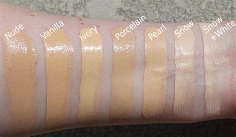 born this way too faced snow foundation swatches too faced born this way concealer in very fair