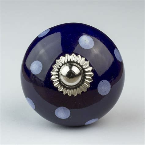 Blue Ceramic Knobs by Blue White Navy Ceramic Door Knobs Handles Furniture