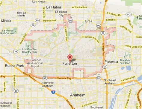 csuf map fullerton senior living community resources maps and attractions