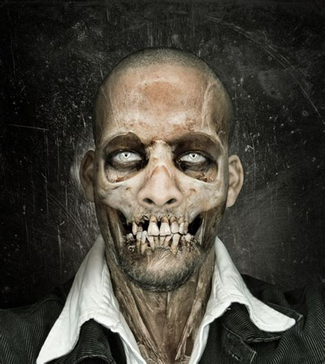 Tutorial Photoshop Skull Face | 25 dark and scary photo manipulation tutorials for photoshop