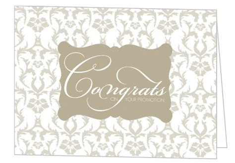 Wedding Congratulations Formal by Taupe Formal Damask Congratulations Card