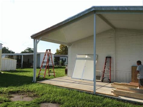 Carport Storage Shed by Carport With Shed Kissimmee Carport To Storage Shed