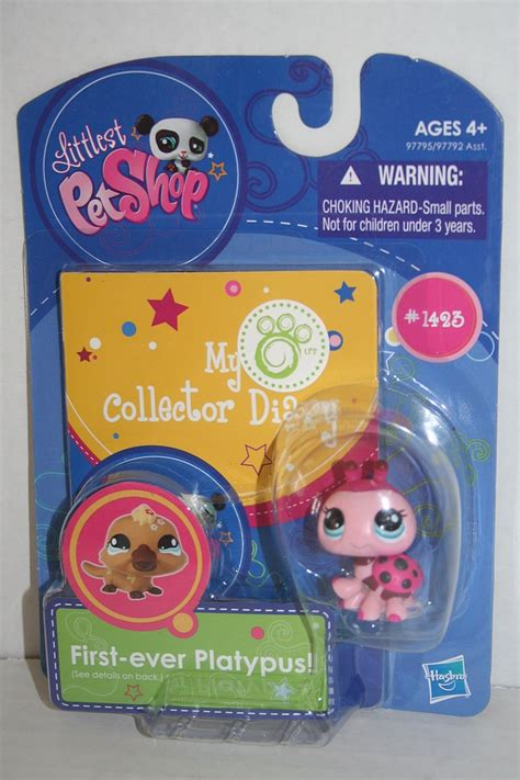 Littlest Pet Shop Wall Stickers littlest pet shop 1423 lady bug with collector diary