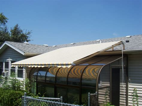 Roof Mounted Retractable Awning by Canvas Products Company Awning Gallery Retractable Awning Dealers Nuimage Awnings