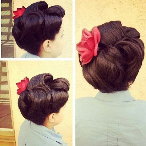 Vintage Wedding Hairstyles Tutorial by 1000 Ideas About 1950s Updo On 1950s Makeup