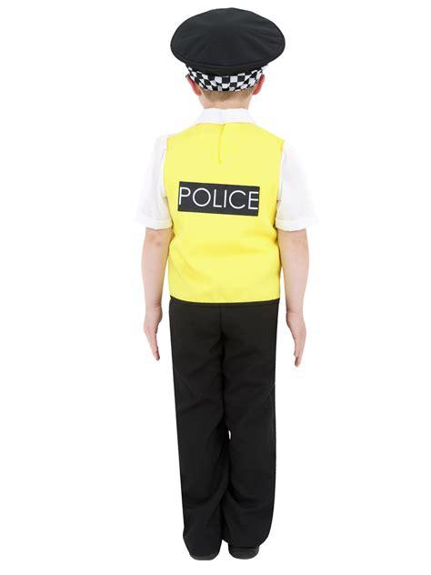 kids policeman costume radio set boys police uniform