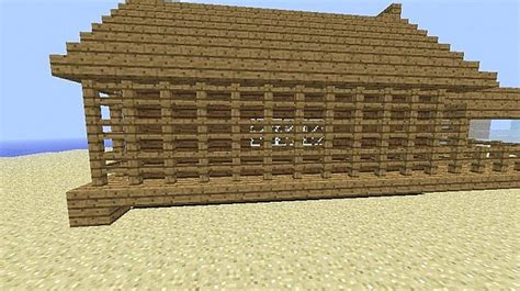small wooden cabin minecraft project