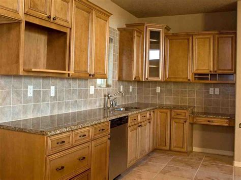 pictures of kitchens with oak cabinets unfinished oak kitchen cabinets