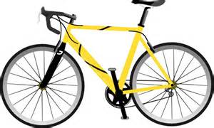 Yellow Bike Yellow Bike Clip At Clker Vector Clip