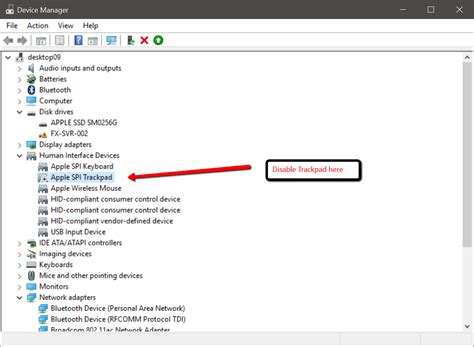 how to use clicker to how to disable trackpad on bootc
