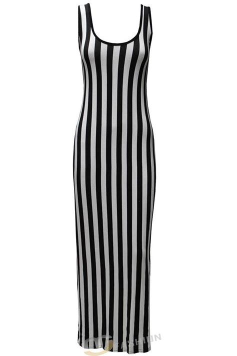 Maxy Stripe striped maxi dress new womens vertical